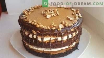 Сникерс торта