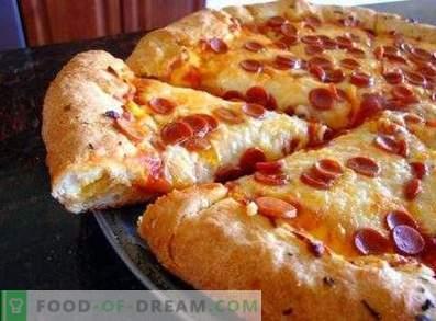 Прекрасна пица тесто