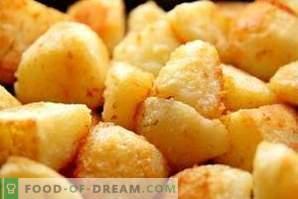 Што да направите ако компирот е премногу солен