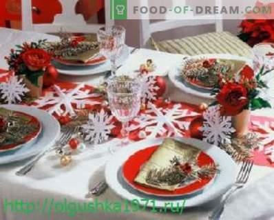 Вкусни салати и закуски за новогодишната празник
