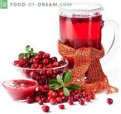 Tranbärsjuice - de bästa recepten. Hur man ska ordentligt och gott kokta tranbärsjuice.
