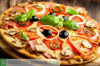 Готвење италијанска пица и ослободување на фрижидерот